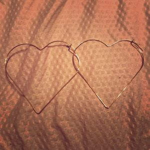 Erika Heart Earrings